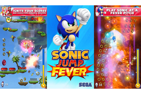 Sonic Jump Fever Cheats & Tips | Mobile Game Place