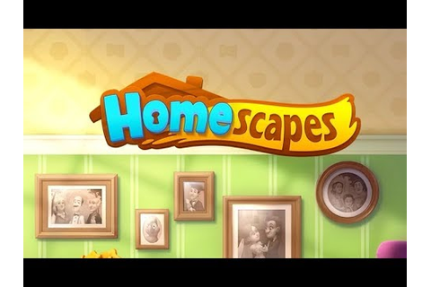 HOMESCAPES (NEW GARDENSCAPES GAME) Gameplay Story ...
