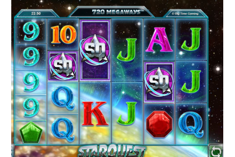 Starquest slot from Big Time Gaming up to 117649 ...