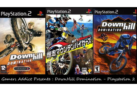 Downhill Domination - [Ps2] - [Decouverte] - [Fr] - YouTube