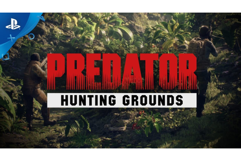 Predator: Hunting Grounds - Reveal Trailer | PS4 - YouTube