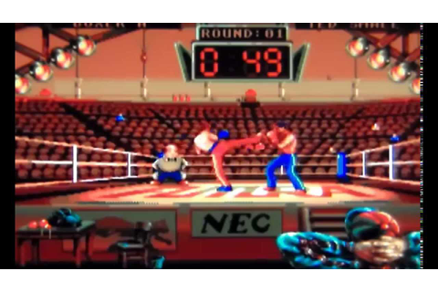Panza Kick Boxing On TurboGrafx-16 - YouTube