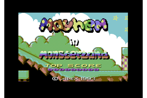 Mayhem in Monsterland (1993 - Commodore 64). Ссылки ...