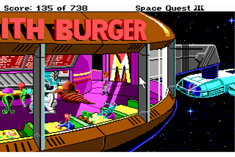 Download Space Quest III - The Pirates of Pestulon | Abandonia