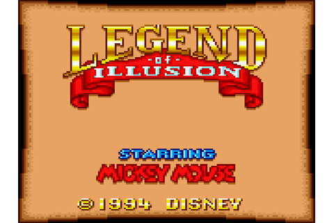 Legend of Illusion Starring Mickey Mouse Screenshots ...
