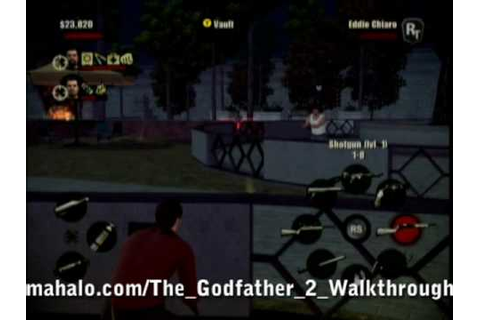 The Godfather 2 Game Walkthrough - The Tony Rosato ...