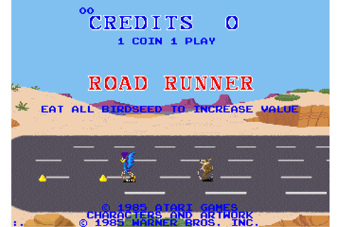 Road Runner - Videogame by Atari Games