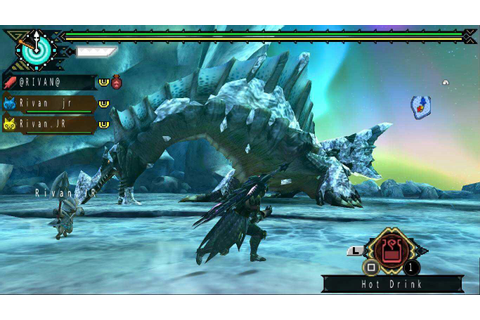 [DLC QUEST]Monster hunter Portable 3rd [ppsspp] ~ R-Island ...