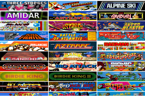 Internet Archive offers 900 classic arcade games for ...