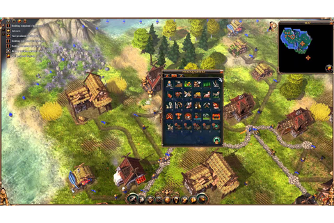 The Settlers 2: Vikings - Mission 1 - Walkthrough Gameplay ...
