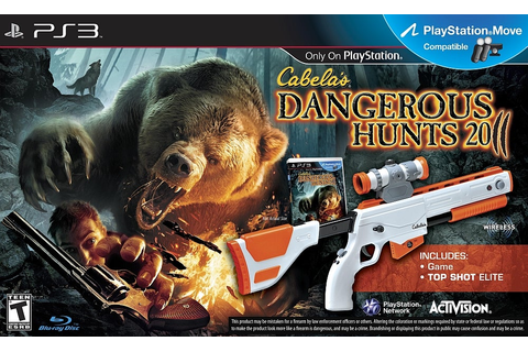 Cabela's Dangerous Hunts 2011 Game & Gun - PlayStation 3 - IGN