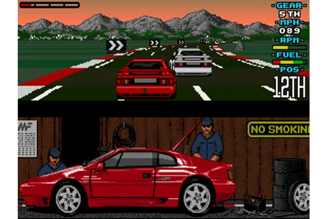 Play Lotus Esprit Turbo Challenge Commodore Amiga online ...