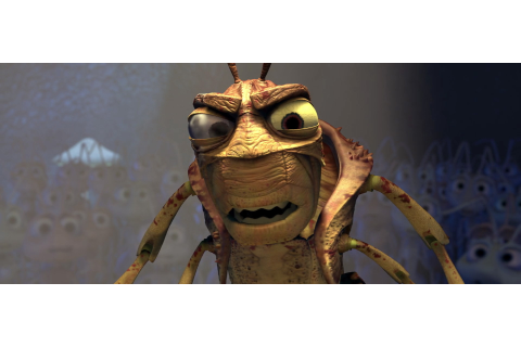 "Hopper, character from ""A bug's life"". 