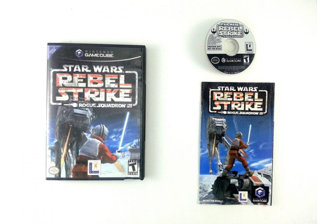 Star Wars Rebel Strike game for Gamecube (Complete) | The ...