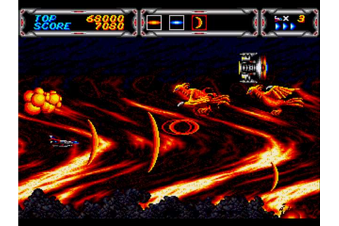 Thunder Force 3 (Genesis) | Classic Game Room Wiki ...
