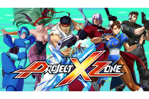 Project X Zone - Capcom Character Spotlight - YouTube