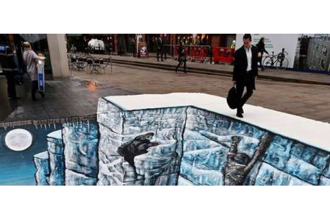 "Climb The Wall: ""Game Of Thrones 3D""Art Hit The Streets Of ..."