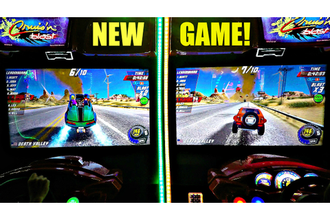 Arcade Racer Cruis'n Blast 2P Game Play Versus レースゲーム ...