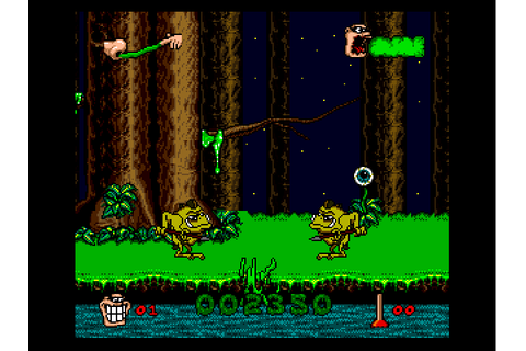 Boogerman - A Pick and Flick Adventure (USA) ROM Download