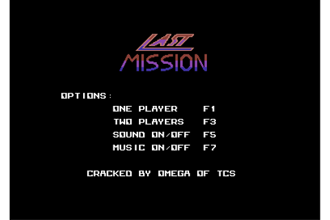 Download Last Mission (Commodore 64) - My Abandonware