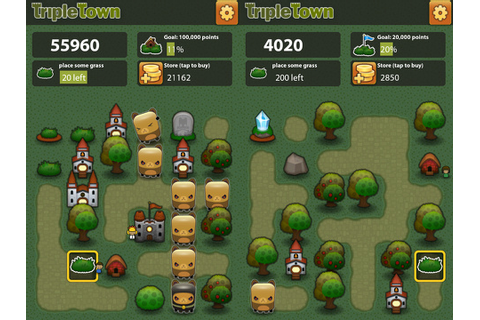 Triple Town iPhone game app review | AppSafari