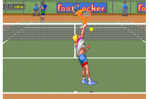 SNES A Day 118: David Crane's Amazing Tennis - SNES A Day