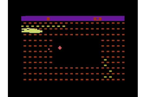 Sssnake for the Atari 2600 - YouTube