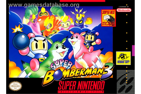 Super Bomberman 3 - Nintendo SNES - Games Database