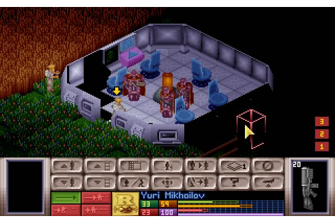 X-COM: Ufo Defense strategy for DOS (1994) - Abandonware DOS