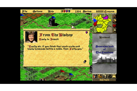 Lords of the Realm 2: Insults (Best medieval strategy game ...