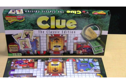Clue® Classic Edition - YouTube