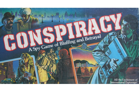 Conspiracy | Board Game | BoardGameGeek