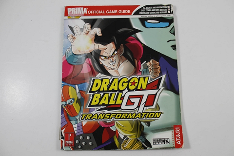 Dragon Ball Gt Transformation Official Game Guide - Prima ...