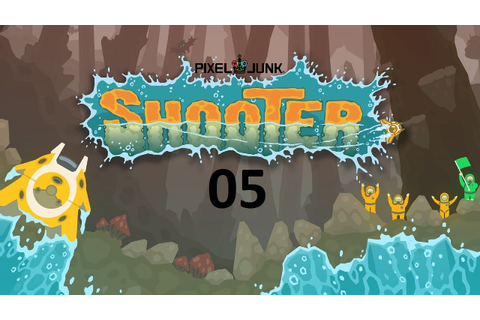 Let´s Play PixelJunk Shooter #05 - Der erste BOSS - YouTube