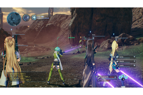 New Sword Art Online: Fatal Bullet Screenshots! | Fextralife