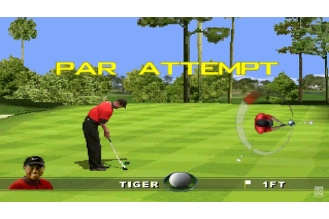 Tiger Woods 99 PGA Tour Golf PS1 Gameplay HD - YouTube