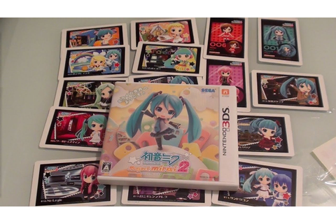 Hatsune Miku: Project Mirai 2 for 3DS Unboxing ...