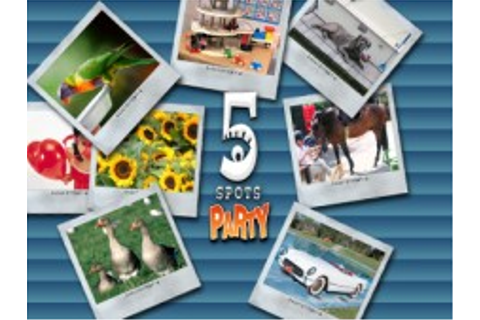 5 Spots Party | WiiWare | Jeux | Nintendo