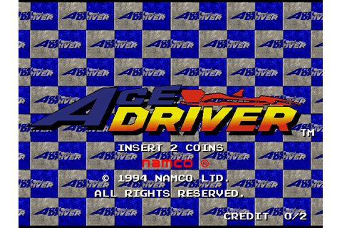 Ace Driver (1994) by Namco Arcade game