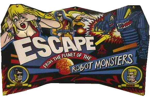 Escape From The Planet Of The Robot Monsters - Videogame ...
