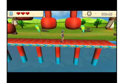 Game Play Amazing Run 3D - YouTube