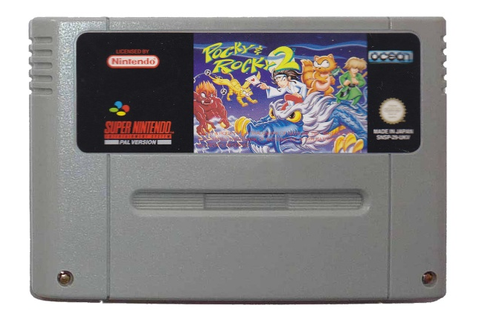 Buy Pocky & Rocky 2 SNES Australia