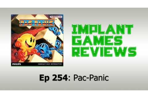 Pac-Panic (CD-i) - IMPLANTgames Reviews - YouTube