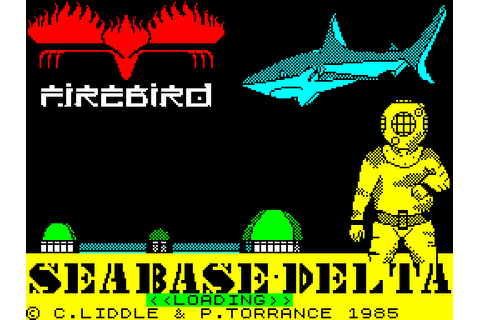 Seabase Delta (1986) by Firebird ZX Spectrum game