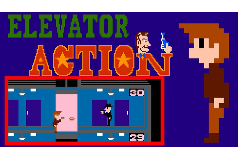 Elevator Action (FC) | Playthrough - YouTube