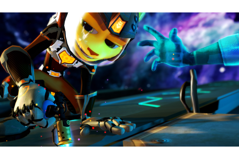 Ratchet & Clank: Into the Nexus screens show typical ...