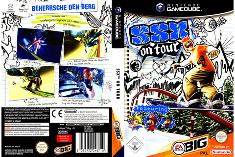 Ultra Capas: SSX On Tour - Game Cube