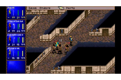 Darklands (MS-DOS) Intro und Gameplay - YouTube