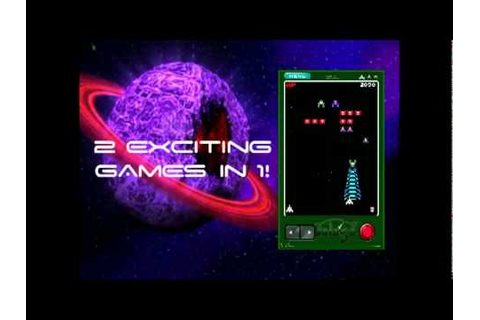 Galaga Remix by Namco Video Trailer - YouTube