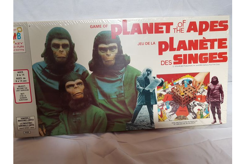 Planet of the Apes board game - Jeux de société La Planète ...
